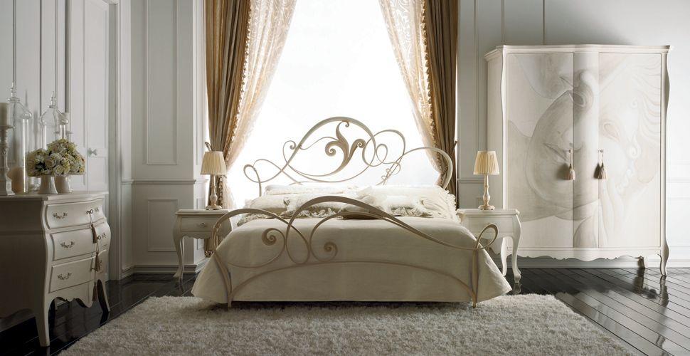 La notte beretta ottavio - Armadio per letto in ferro battuto ...